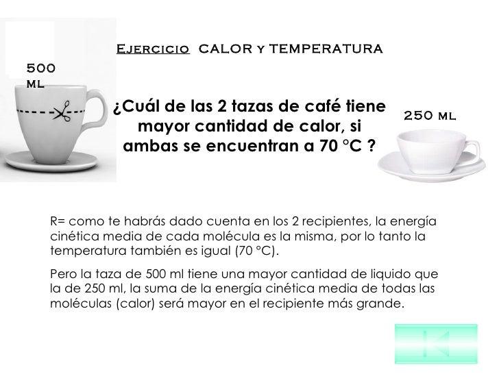 Calor y temperatura - Taza termica para cafe ...