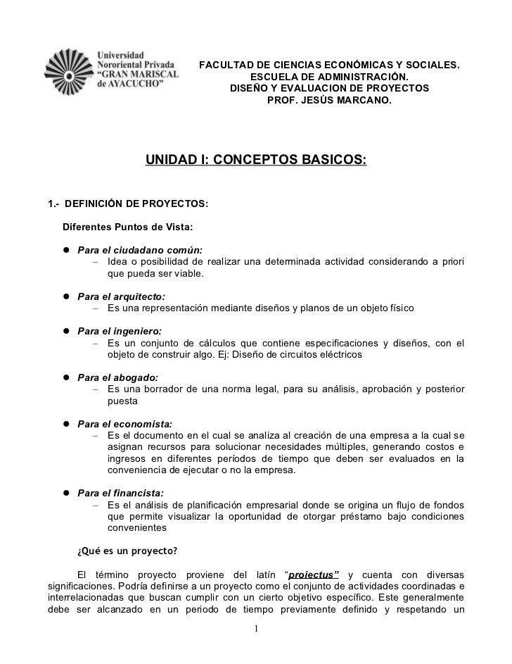FACULTAD DE CIENCIAS ECONÓMICAS Y SOCIALES.                                         ESCUELA DE ADMINISTRACIÓN.            ...