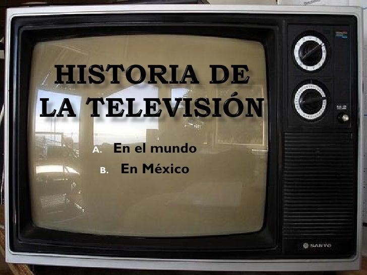 A. En el mundo  B. En México