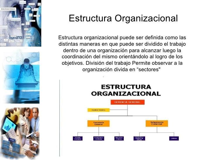 Estructura Organizacional Slide 2