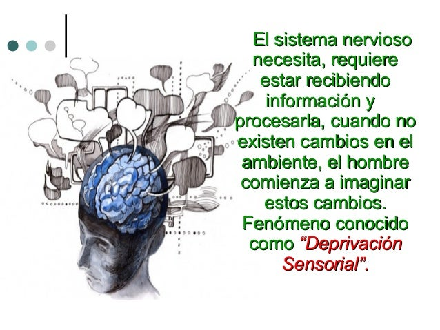 El sistema nerviosoEl sistema nervioso necesita, requierenecesita, requiere estar recibiendoestar recibiendo información y...