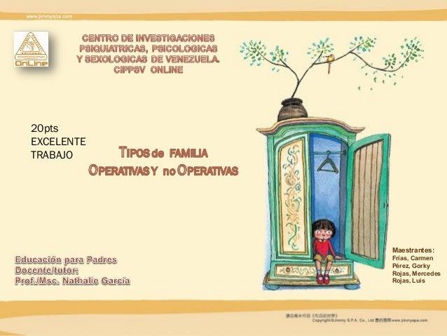 Maestrantes:Frías, CarmenPérez, GorkyRojas, MercedesRojas, Luis20ptsEXCELENTETRABAJO