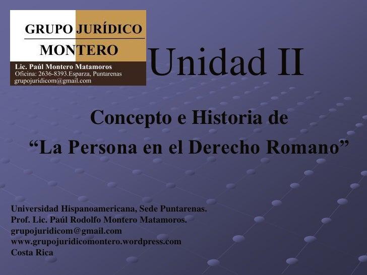 Matrimonio Romano Definicion : Unidad ii concepto de personas en el derecho romano