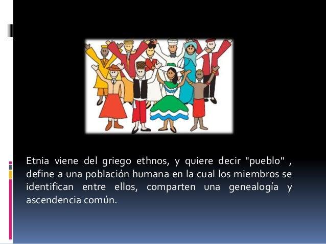 Diversidad Étnica Slide 2