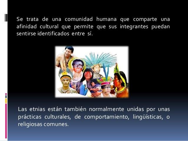 Diversidad Étnica Slide 3