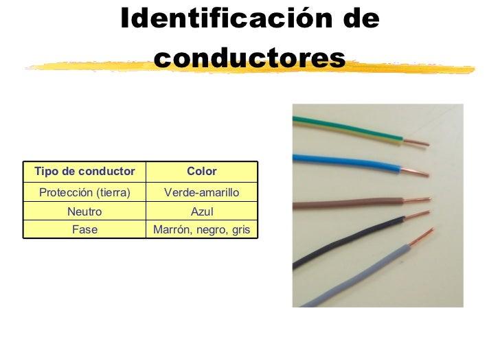 Instalaciones electricas for Colori fase e neutro