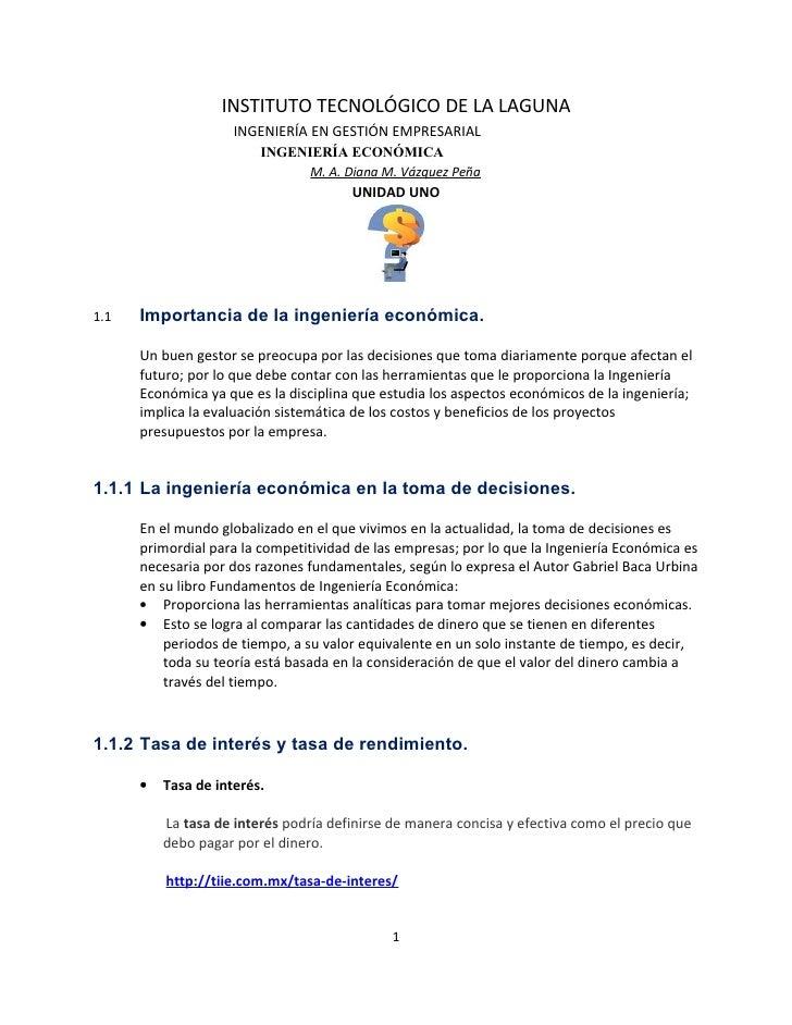 INSTITUTO TECNOLÓGICO DE LA LAGUNA                     INGENIERÍA EN GESTIÓN EMPRESARIAL                         INGENIERÍ...