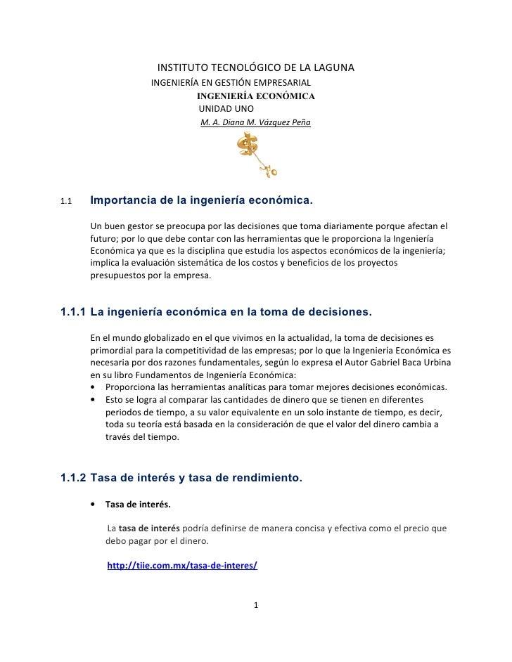 INSTITUTO TECNOLÓGICO DE LA LAGUNA                     INGENIERÍA EN GESTIÓN EMPRESARIAL                                IN...