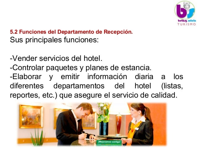 Unidad v 1 departamento de recepcion for Areas de cocina y sus funciones