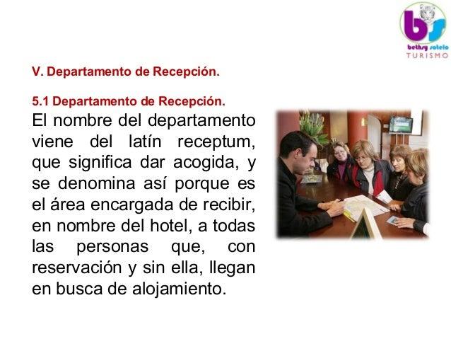 Unidad v 1 departamento de recepcion for Que significa oficina
