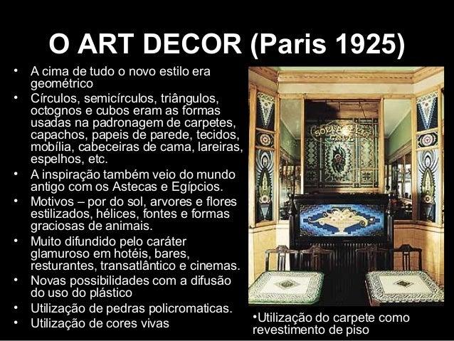 Design de interiores unid i introdu o e evolu o hist rica for E mobilia paris