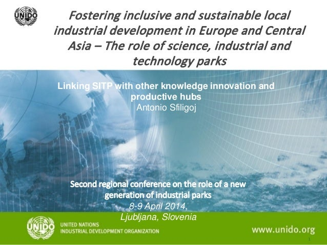 Fostering inclusive and sustainable local industrial development in Europe and Central Asia – The role of science, industr...
