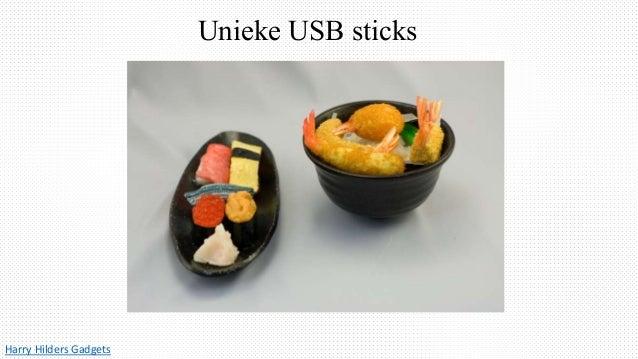 Unieke USB sticks Harry Hilders Gadgets