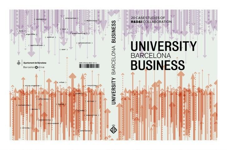 20 case studies ofR&d&i collaborationuniversitybarcelonabusiness