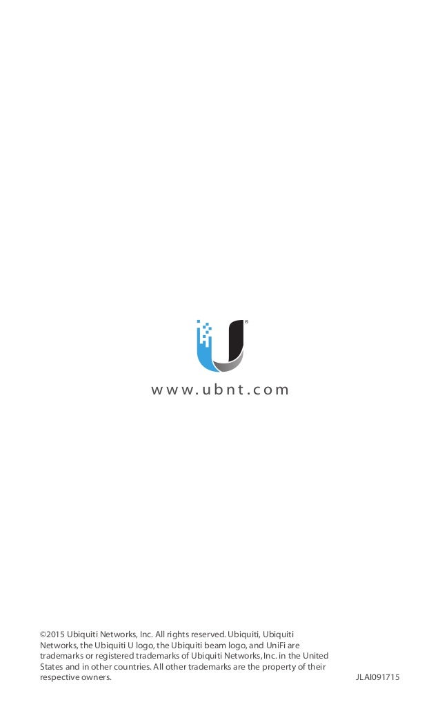 Manual de Configuración de AP Ubiquiti