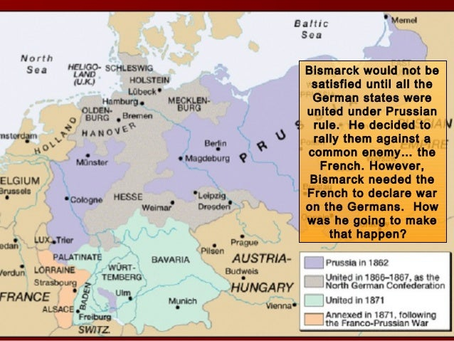 an analysis of the unification of germany under the rulership of bismarck In that sense, the unification of germany was potentially an even more seismic event than the creation of the original second reich in 1871, given that bismarck's progeny was balanced by the continued existence and in some cases growth of the austro-hungarian, tsarist, british, french and ottoman empires.