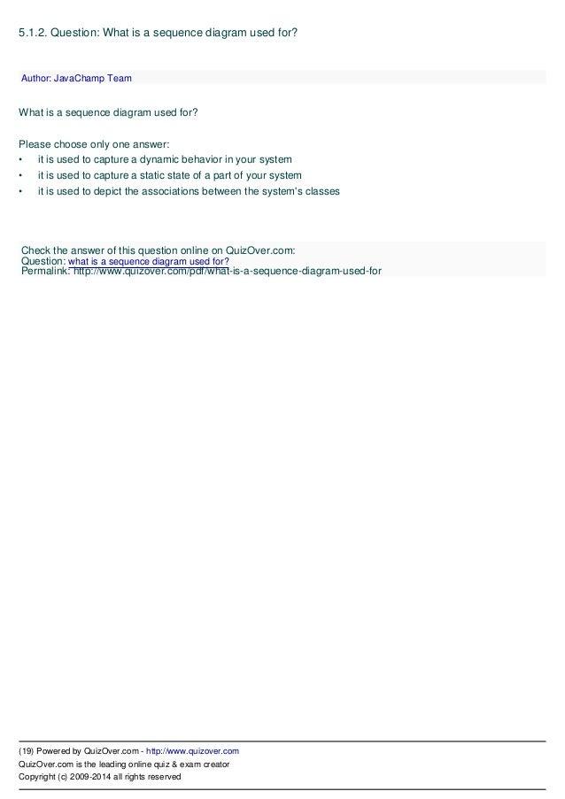 Uml unified modeling language quiz 19 ccuart Choice Image