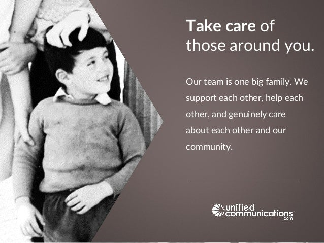 Our team is one big family. We support each other, help each other, and genuinely care about each other and our community....