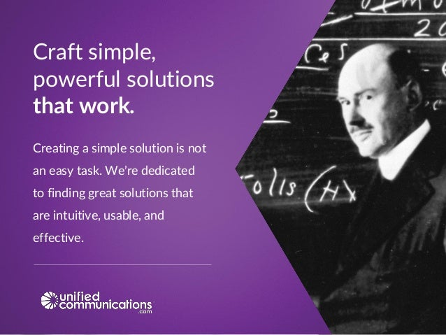 Creating a simple solution is not an easy task. We're dedicated to finding great solutions that are intuitive, usable, and...