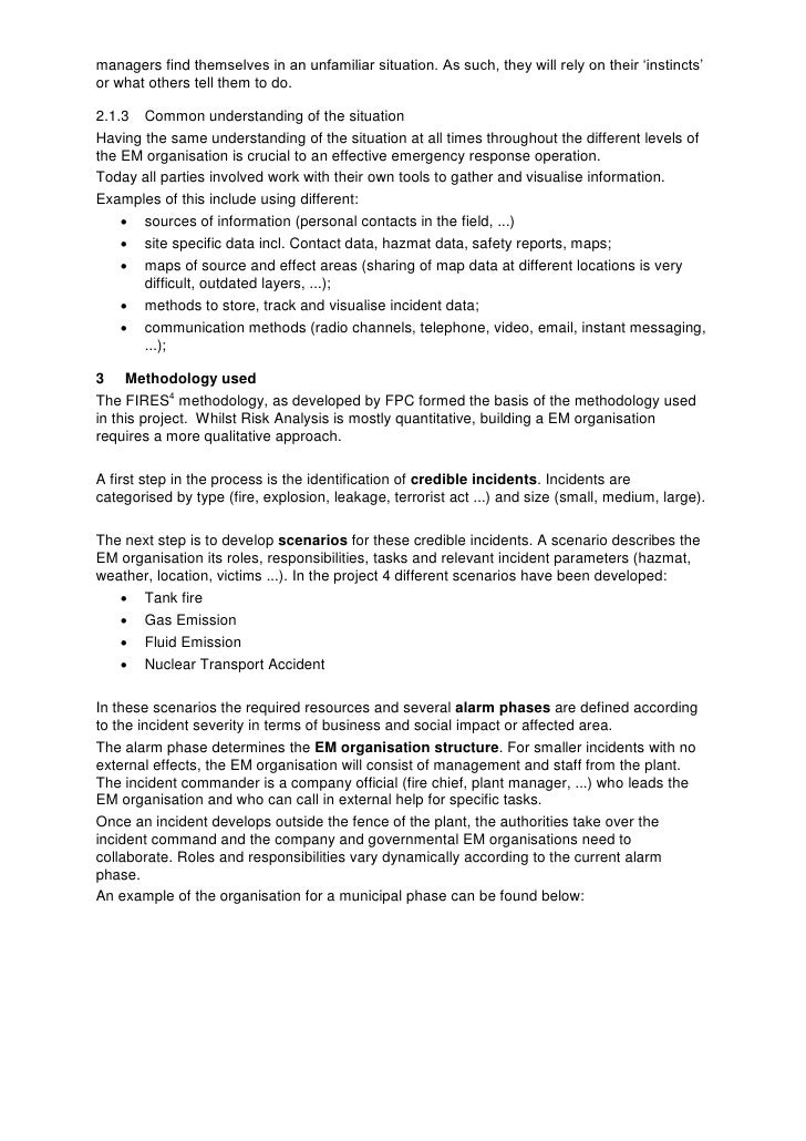 "emergency management field essay Essay on emergency management the terms ""emergency"", ""disaster"" and catastrophe"" have very much in common all three terms denote some sudden event that leads to negative consequences in the life of a society causing losses in human and material resources, or environmental losses."