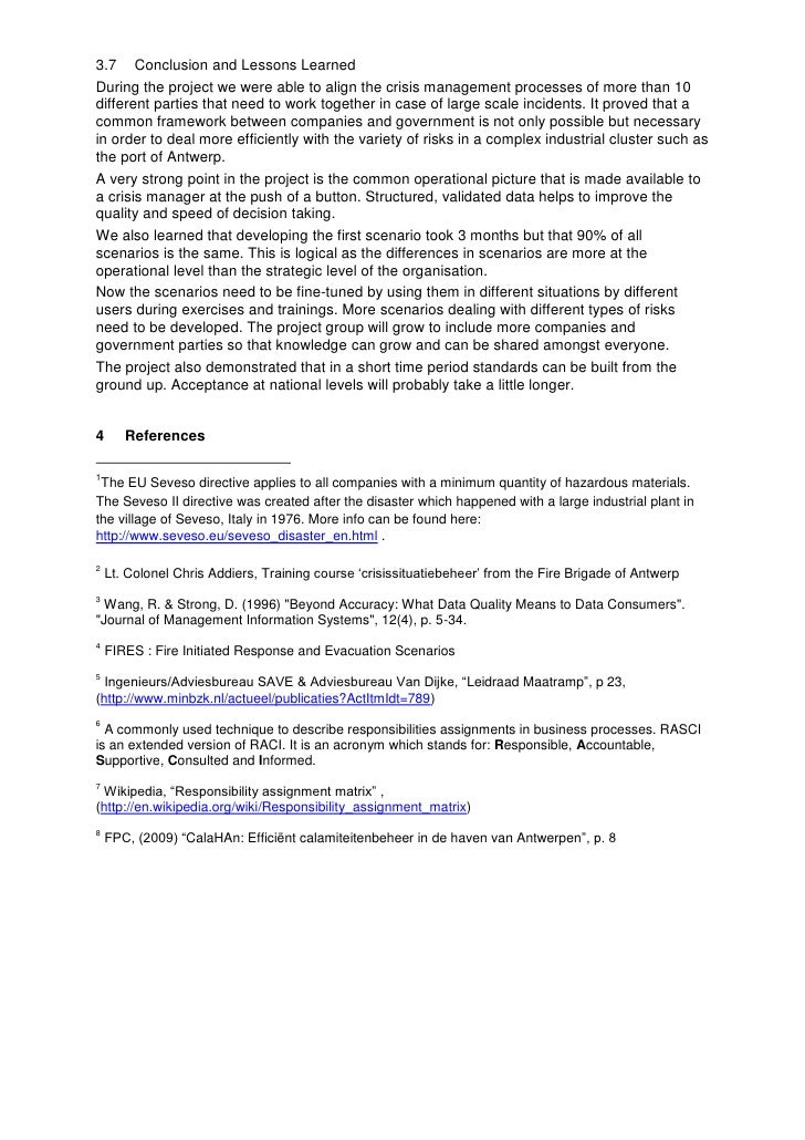 the holocaust crisis management essay Crisis management refers to the policies and procedures developed for handling emergency situations since crises vary in size.