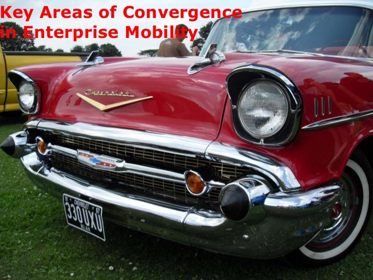 Key Areas of Convergence in Enterprise Mobility<br />