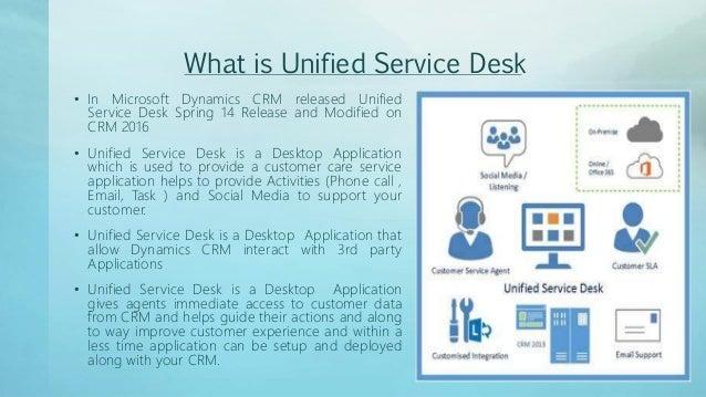 unified service desk