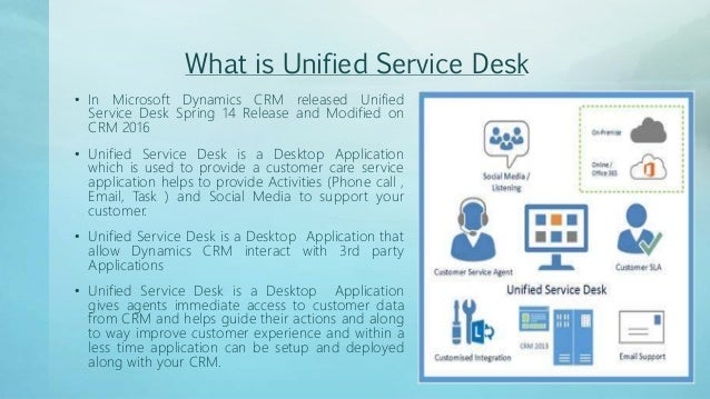Perfect Unified Service Desk Microsoft Dynamics CRM   2016 Part  1; 2. Great Pictures