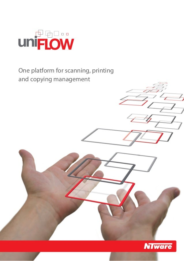 One platform for scanning, printing and copying management