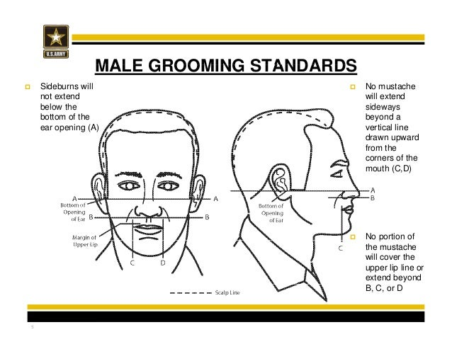 AR 670-1: 3- Hair and Fingernail Standards and Grooming Policies