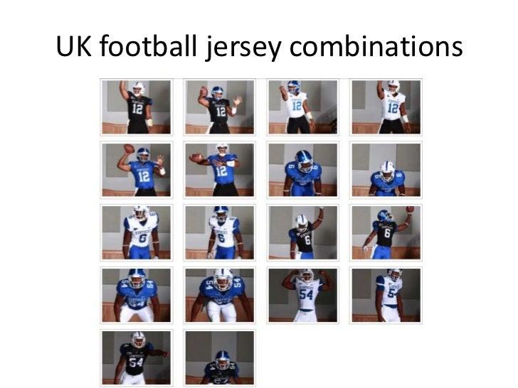 UK football jersey combinations