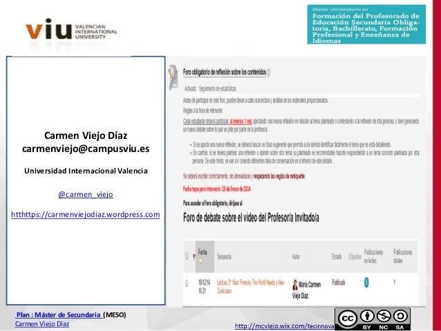 Universidad internacional de valencia asignatura for Universidad de valencia online