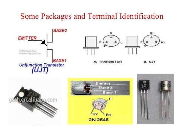 unijunction transistor ujt