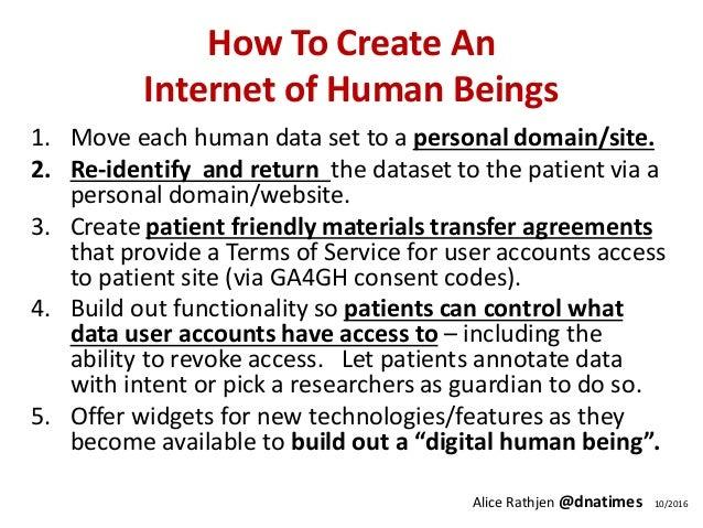Unilateral De-Silo of Human Datasets Slide 3