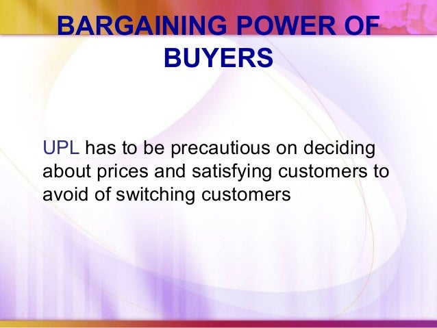 bargaining power supplier unilever Colombia cosmetics products market- by products, distribution channels and vendors  431 bargaining power of suppliers.