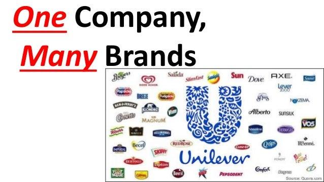One Company, Many Brands