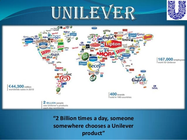 a company analysis of unilever