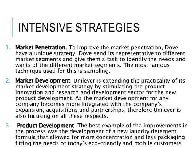 unilever diversification strategy Unilever went through various phases of diversification and consolidation during  the '80s and '90s the company invested in new products,.