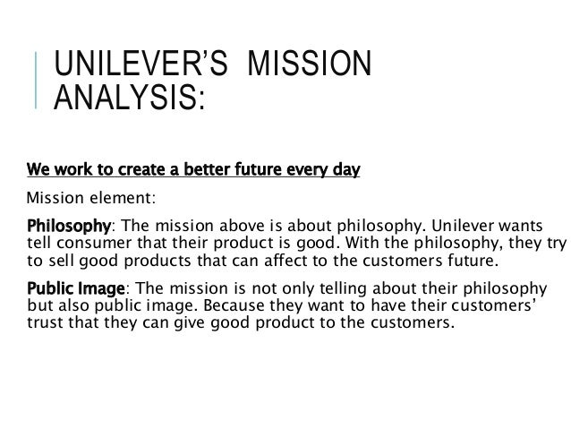 unilever money evaluation essay