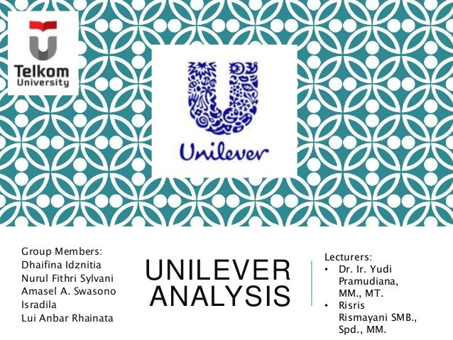 unilever tows