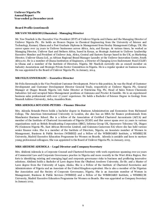 unilever annual report 2016 pdf