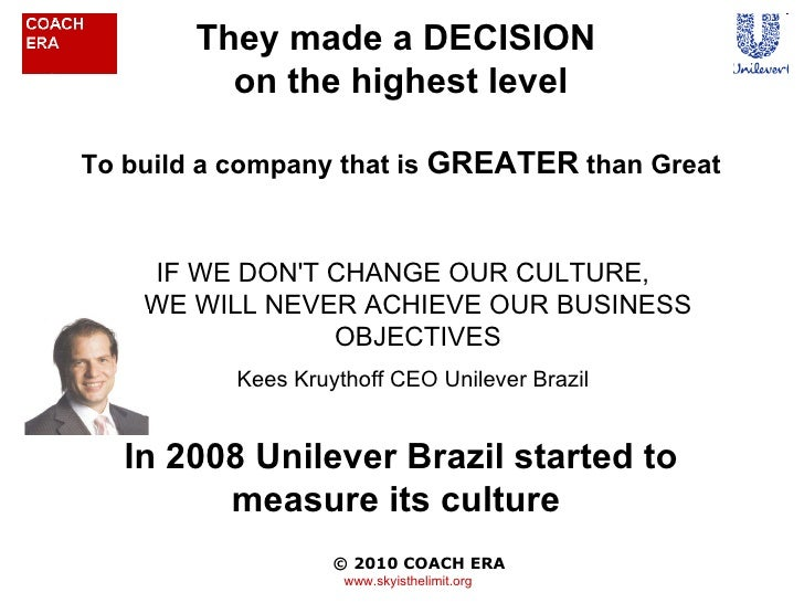 unilever brazil report The takeover plan was hatched by american billionaire warren buffet and brazilian investment fund 3g capital, ruthless venture capital investors interested we investigated what makes dove a 'sustainable living brand' and a sustainability success story with pride of place in the unilever annual report.