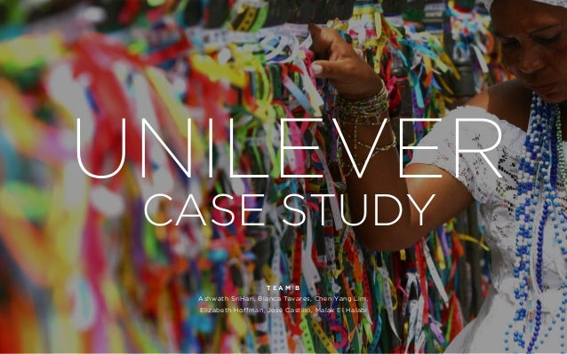 unilever in brazil case Unilever is one of the largest consumer goods companies in the world, with over 400 household brands and 173,000 employees - 13,000 of which work from its brazilian.