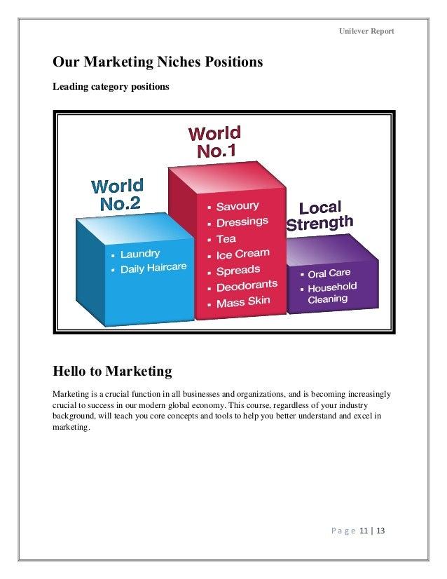 introduction to unilever Unilever est l'un des leaders mondiaux sur le marché des produits de grande consommation : l'entreprise produit et vend près de 400 marques dans plus de 190 pays.