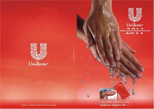 Unilever Nigeria Annual Report 2011