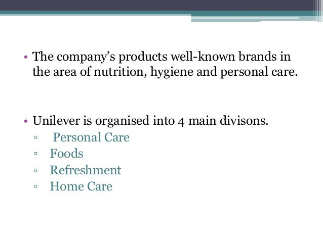 Unilever social responsibility