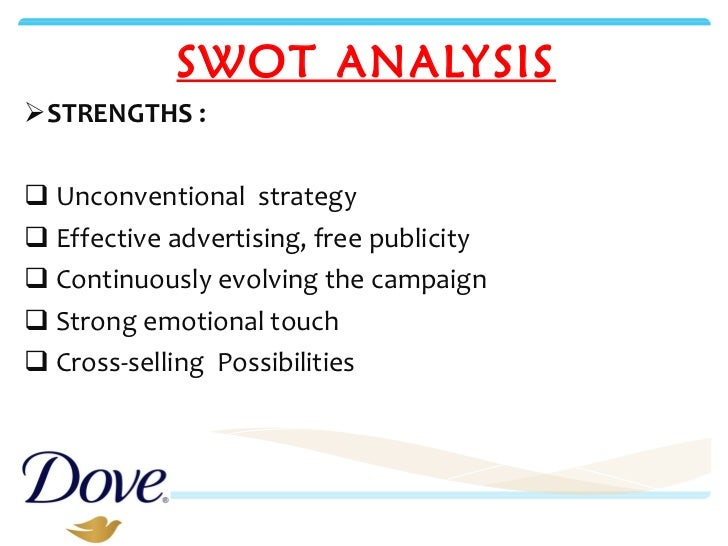 swot analysis of dove soap