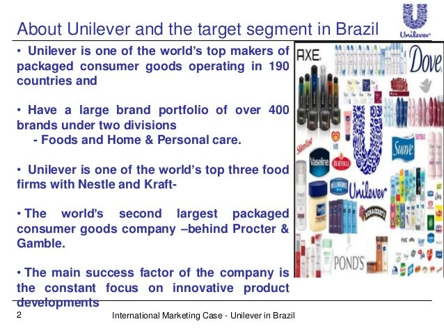 Unilever internationalization