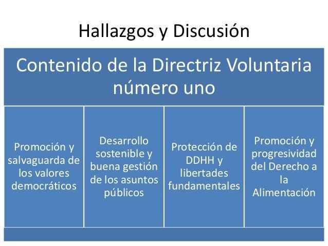 Justiciabilidad del derecho a la alimentación en el sistema jurídico colombiano y el interamericano de derechos humanos Slide 2