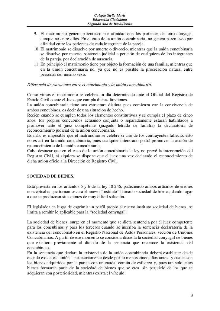 Uni n concubinaria - Pension de viudedad en caso de divorcio ...